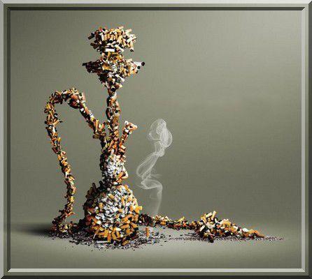 Peut-on faire une différence entre la chicha et la cigarette ?