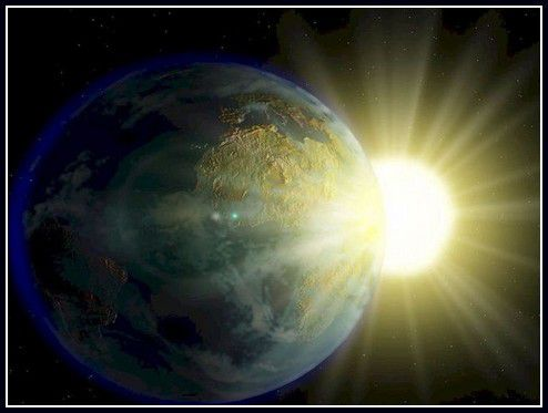est ce que la terre tourne autour du soleil