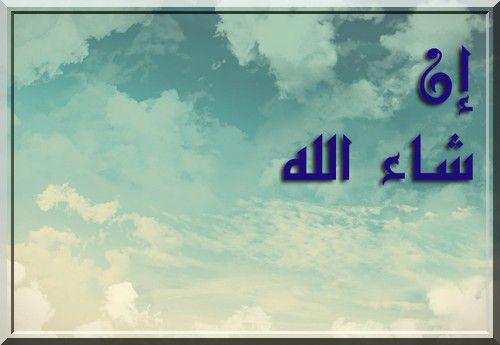 Dire «inchâa Allâh - إن شآء الله» dans ses invocations (audio)