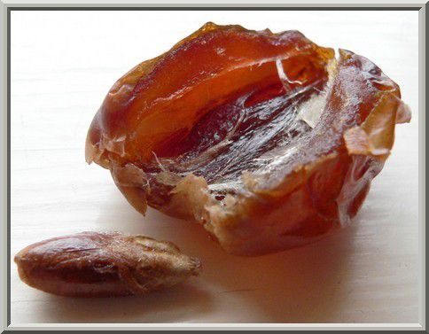 Vérifier l'intérieur des dattes avant de les manger