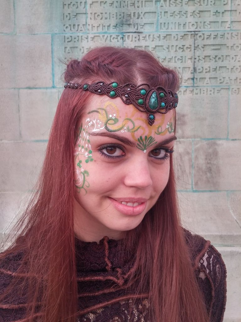 La Parisienne 2015 (12/09/15) : maquillage pour l'événement et costumes Celtique/Fantastique/Tribal  d'Aurélie Adam ' (A fleur de peau), Photos Camille Treutenaere/Accessoires Tribal Gypsy