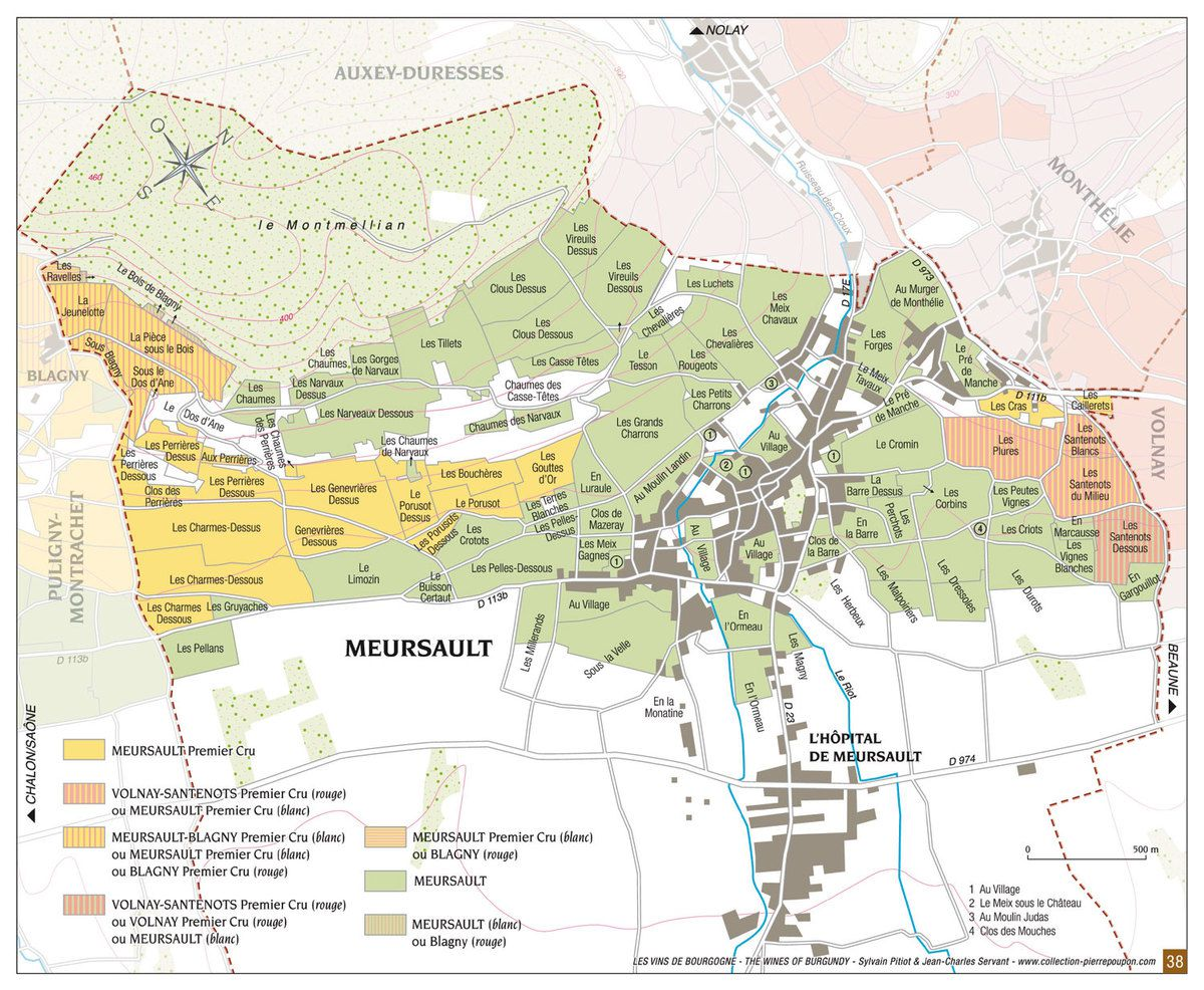 les premiers crus du vignoble de meursault par patrick essa vigneron a meursault au domaine. Black Bedroom Furniture Sets. Home Design Ideas