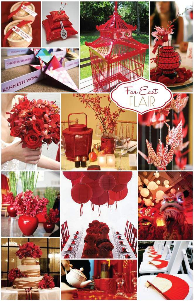 D coration de mariage chinoise rouge mariage id es for Asian wedding bed decoration ideas