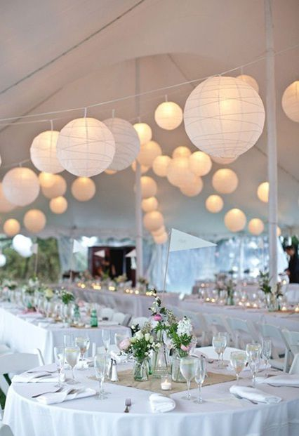 decoration mariage lampion