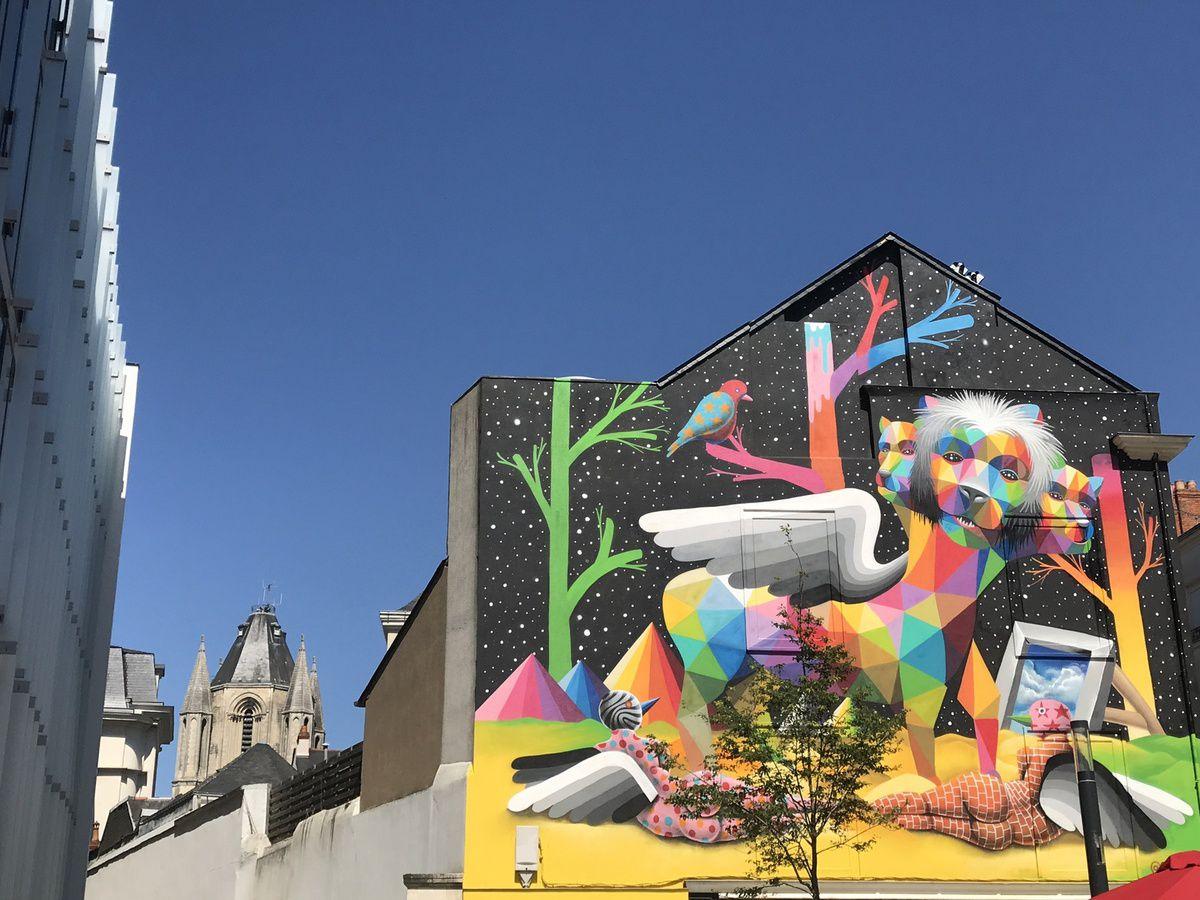 Echappées d 'art, ça se passe à Angers !