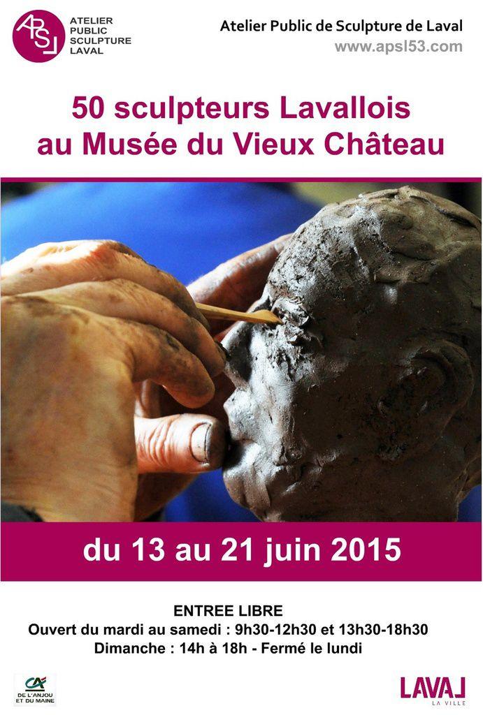Exposition au musée du Vieux Château de LAVAL