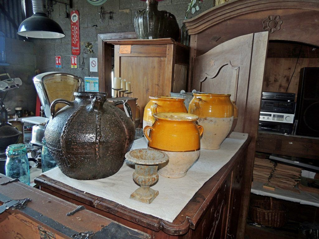 poterie 18 eme brocante thamalet