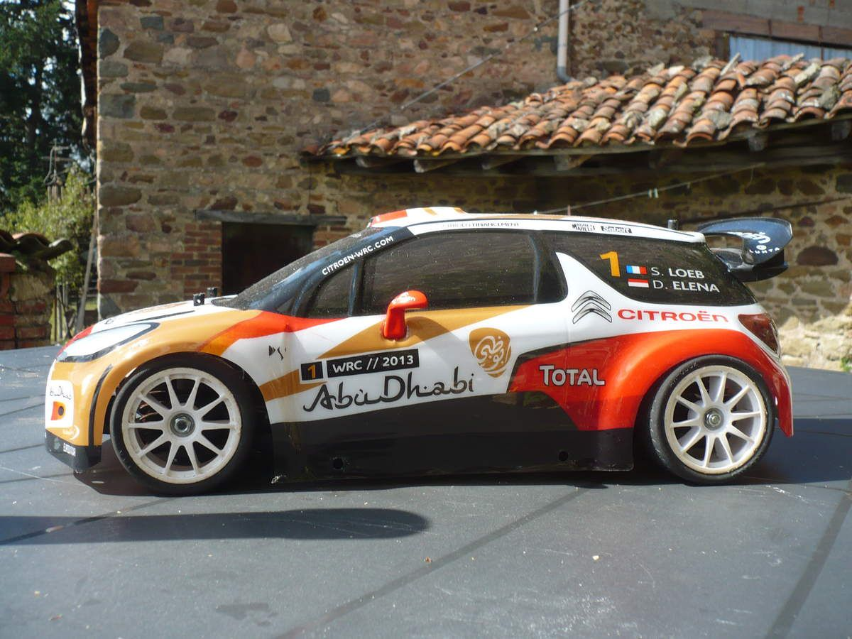 citroen ds3 wrc 1 10 radiocommand e de mondo. Black Bedroom Furniture Sets. Home Design Ideas