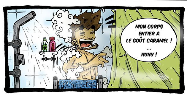 Douche froide !