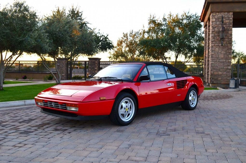 1985 1989 ferrari mondial 3 2 cabriolet forza. Black Bedroom Furniture Sets. Home Design Ideas