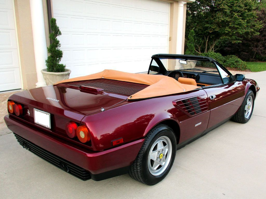 ferrari mondial 3 2 cabriolet v8 quattrovalvole ferrari mondial 3 2 cabriolet specs 1985 1986. Black Bedroom Furniture Sets. Home Design Ideas