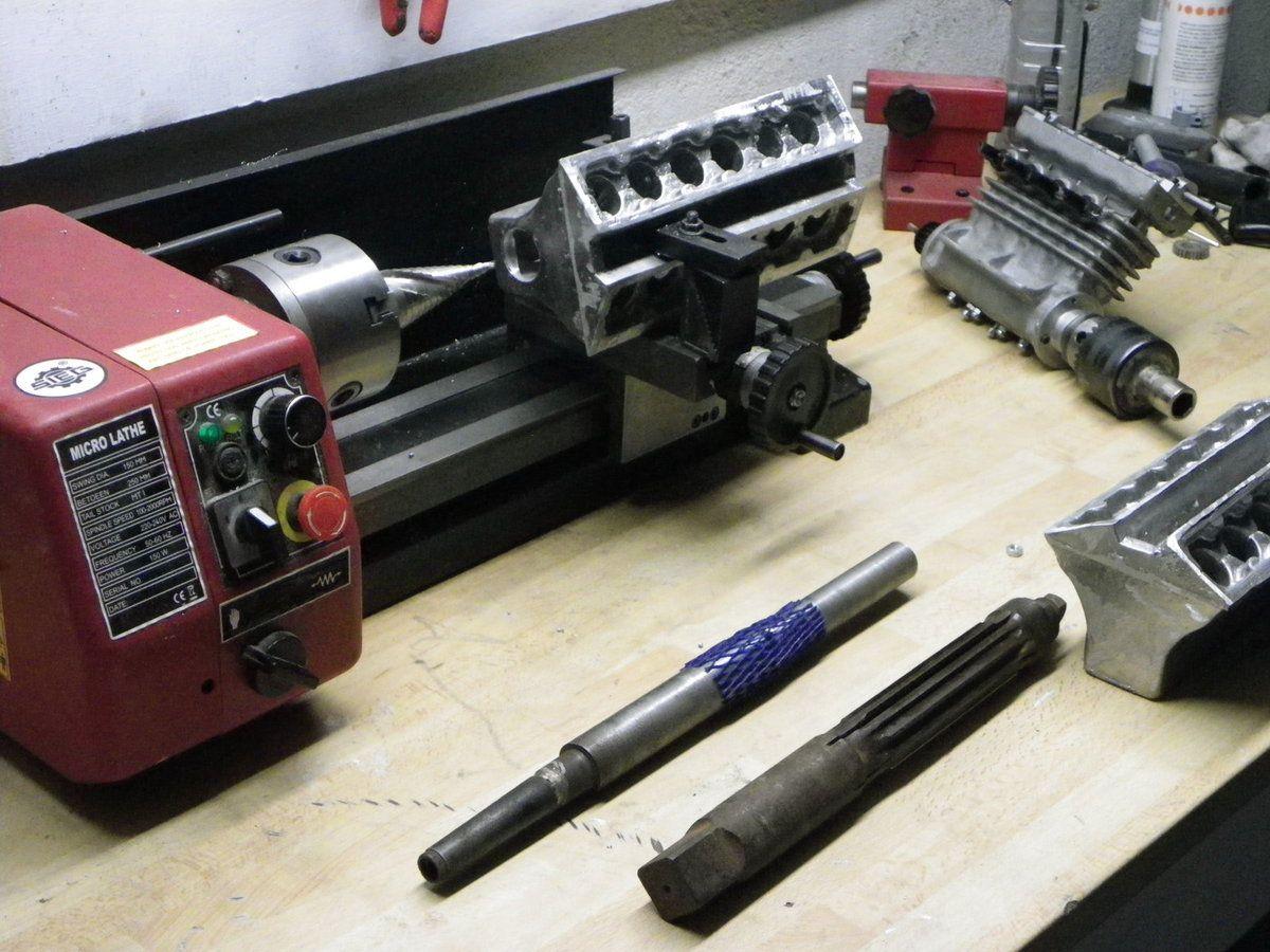 v12 machining