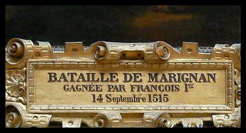 François et la bataille de mariGnan