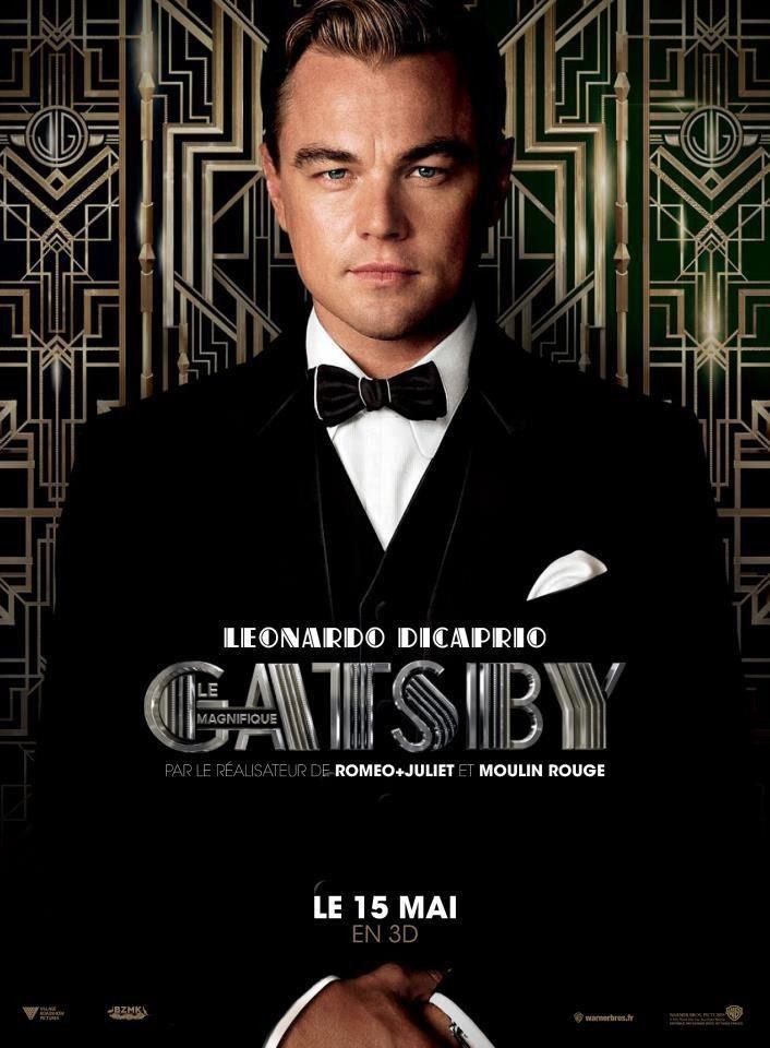 "version 2013 de ""Gatsby le Magnifique"" avec Léonardo Dicaprio"