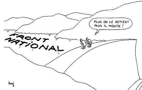 Marche républicaine pour #CharlieHebdo : le FN &quot&#x3B; persona non grata &quot&#x3B;...