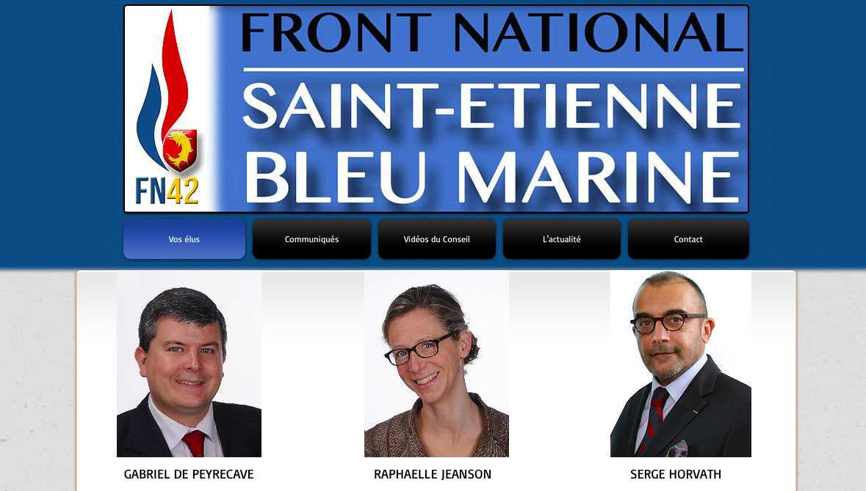 #SaintEtienne : Le blog des élus de Saint-Etienne Bleu Marine désormais en ligne !