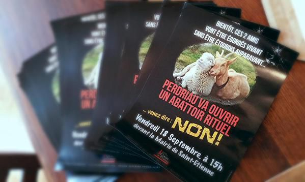 RAPPEL : Manifestation contre l'Abattoir, on vous attend !