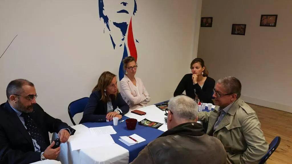 Conférence de Presse des élus FN de la Mairie de Saint-Etienne