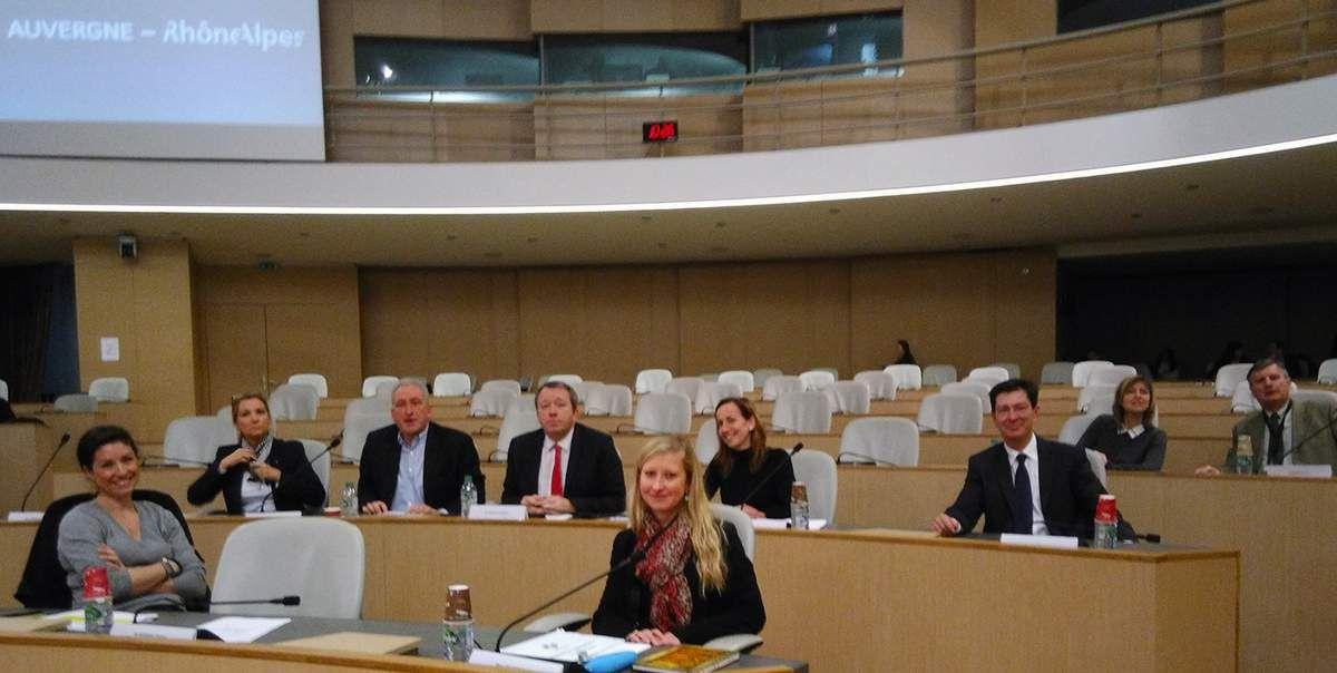Vos élus FRONT NATIONAL de la commission de permanence à la Région Auvergne Rhône-Alpes
