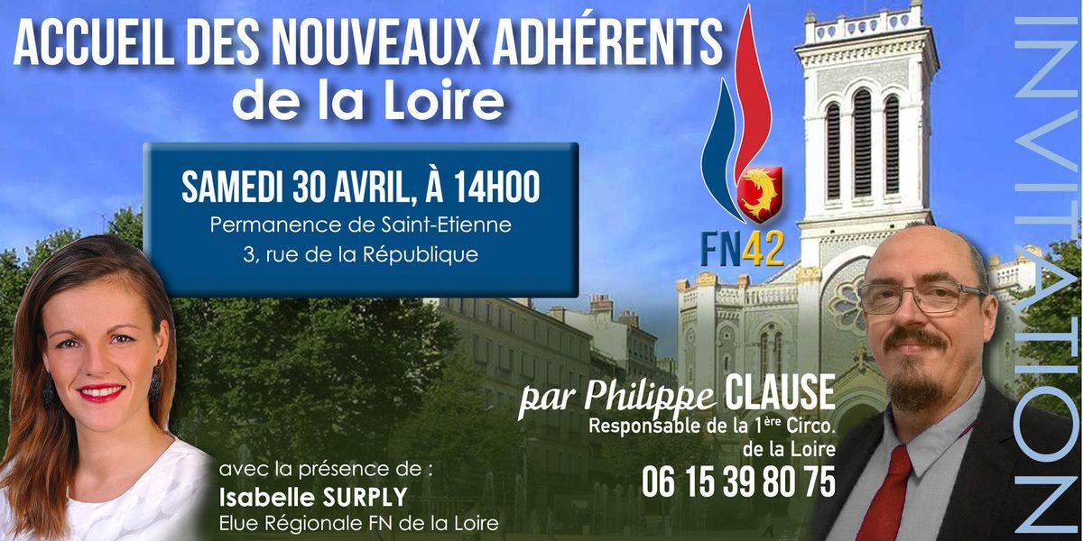 Nouveaux adhérents dans la Loire ? A toute à l'heure !