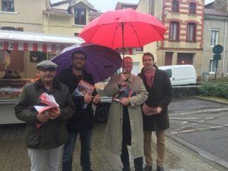 Rien ne les arrête à Saint-Etienne : hier et aujourd'hui, pluie ou soleil, à deux ou à plusieurs !