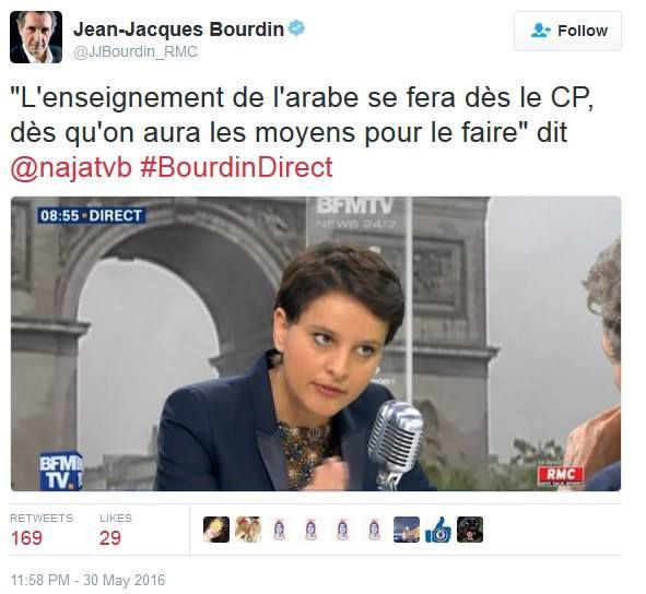 Education nationale : Najat et la soumission...