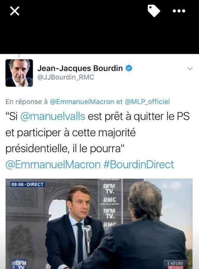 Macron c'est &quot&#x3B;on prend les mêmes et on recommence&quot&#x3B; : il le dit lui même !