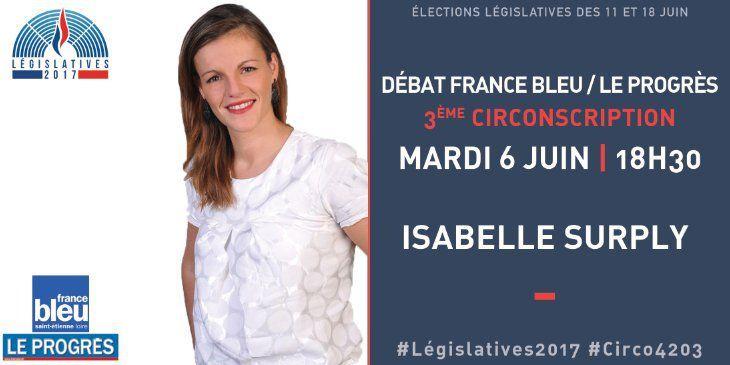 Débat France BLEU / Le progrès avec Isabelle SURPLY (FN) c'est demain !