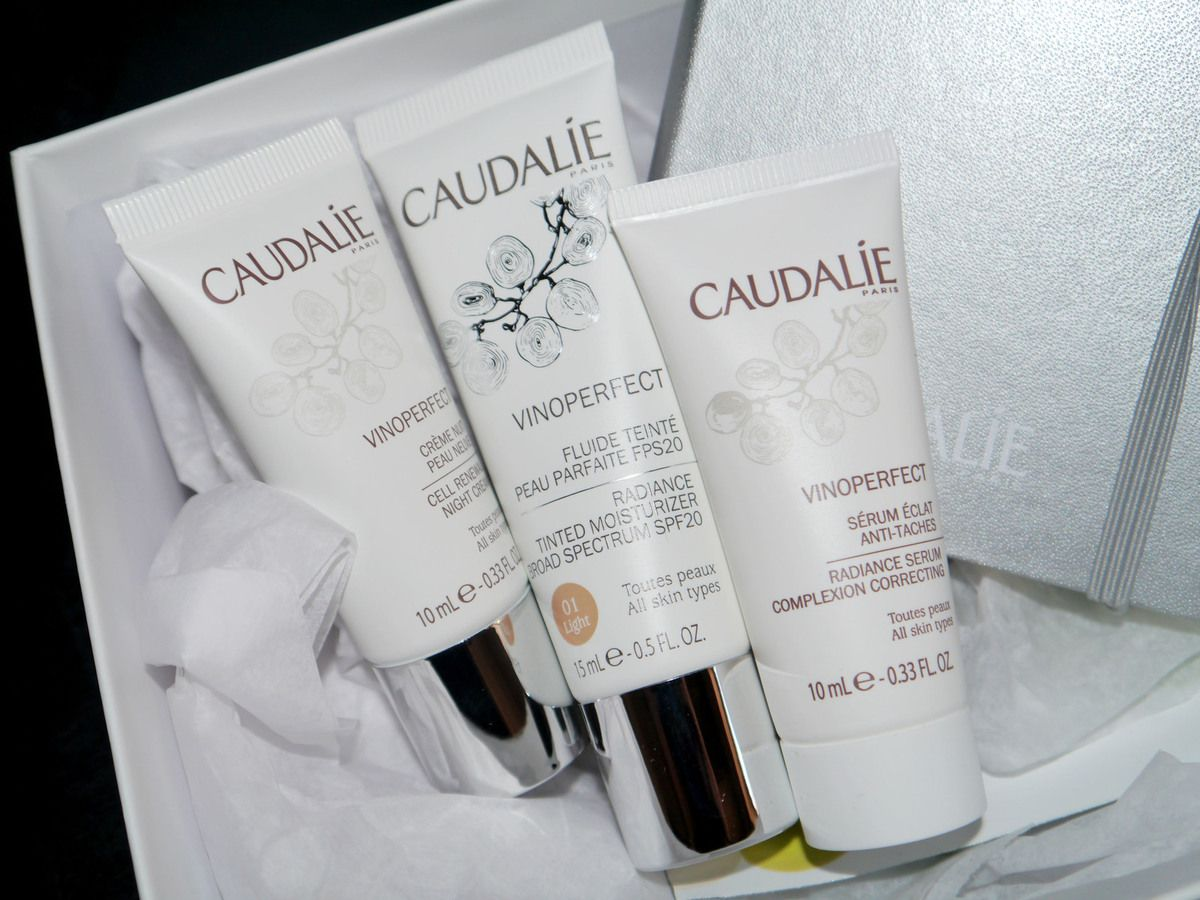 Box Caudalie anti-taches Vinoperfect