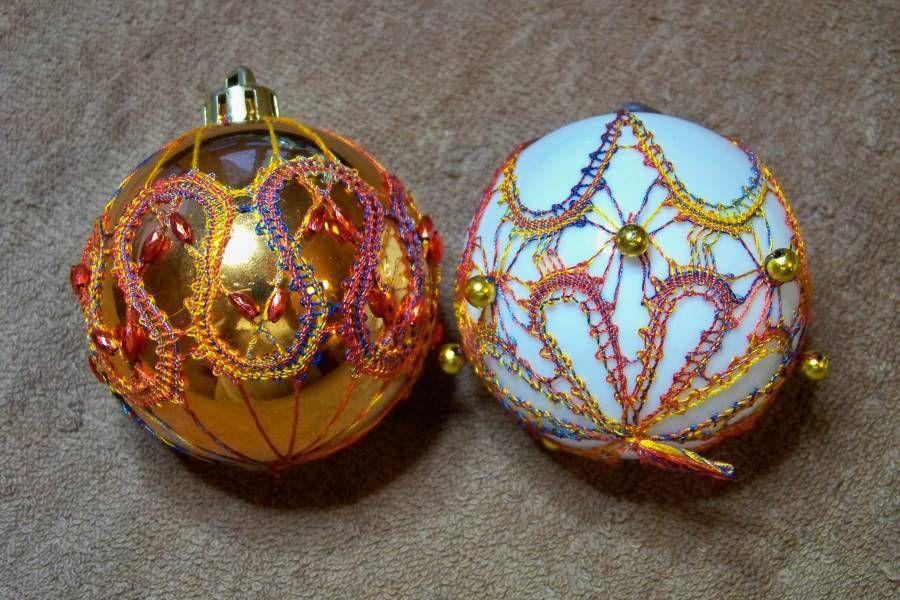 Quelques boules de Noel....