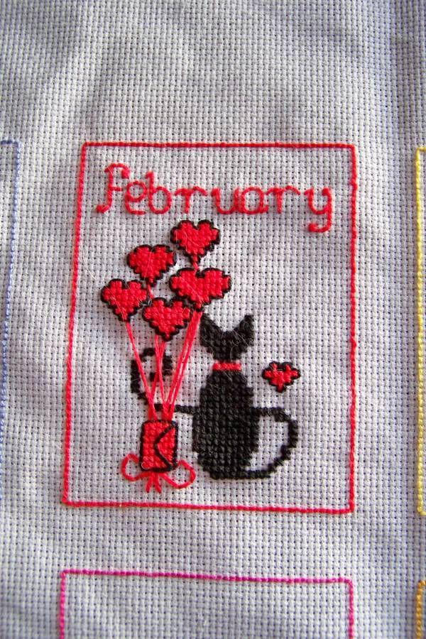 La calendrier des chats 02 (févier)....