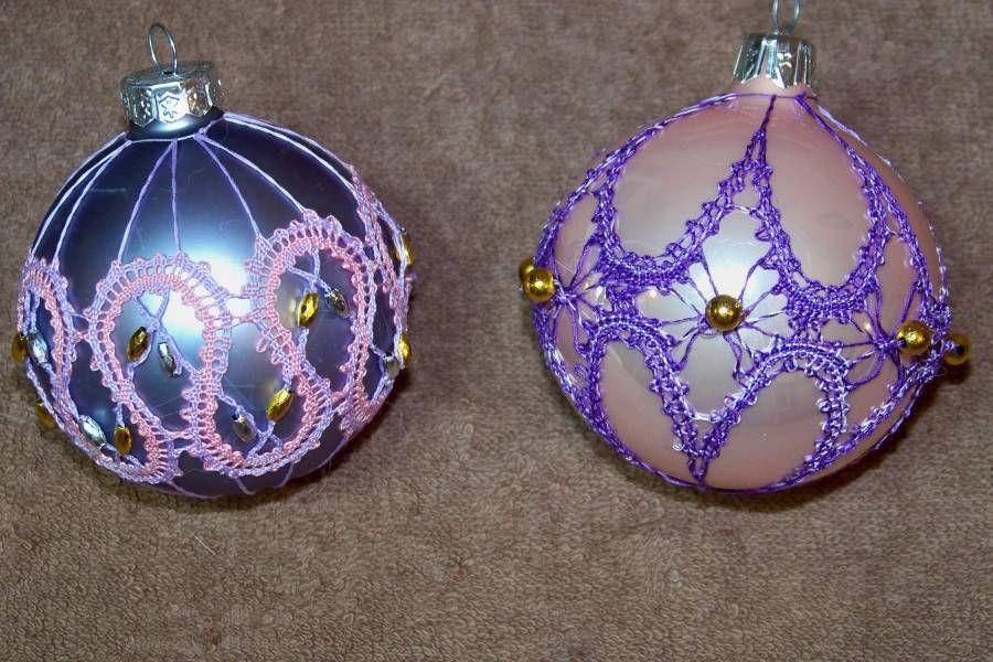 Les boules de Noël....