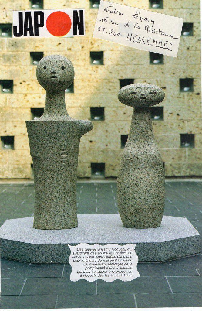 Le Japon,sculptures 1950(recto)26.08.2016