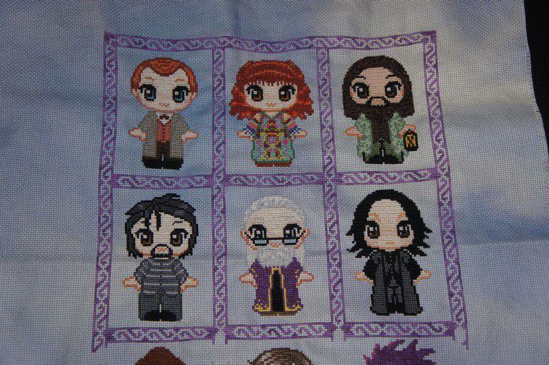 Cadre pour mes petits personnages Harry Potter suite