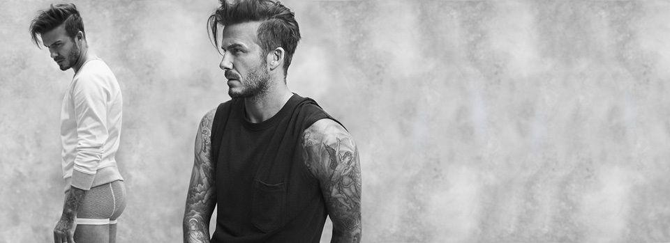 David Beckham sexy pour H&M