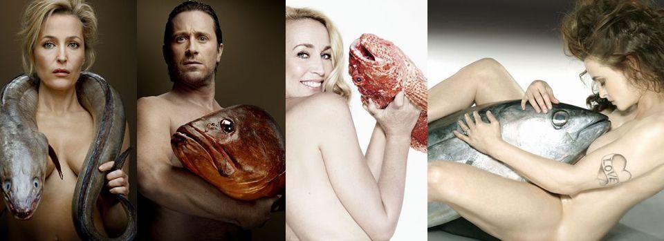 Lizzy Jagger, Thomas Dutronc, Gillian Anderson nus pour les oceans !