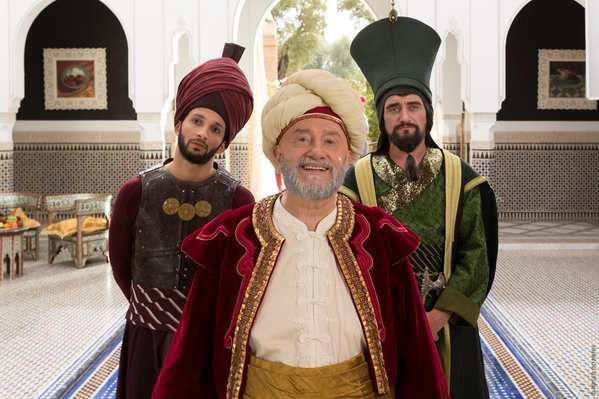 Kev Adams dans Les nouvelles aventures d'Aladin ! 1eres images !