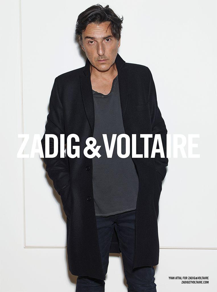 Yvan Attal seducteur, il devient mannequin pour Zadig &amp&#x3B; Voltaire
