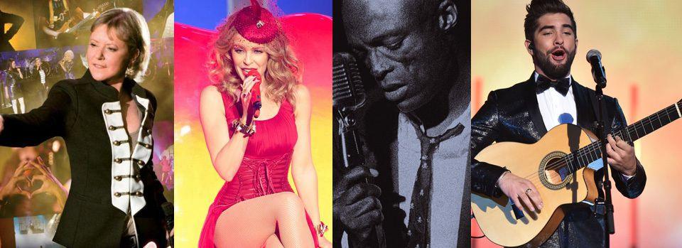 Kylie Minogue, Seal,Dorothee, Kendji Girac vous invitent aux 30ans de Bercy!