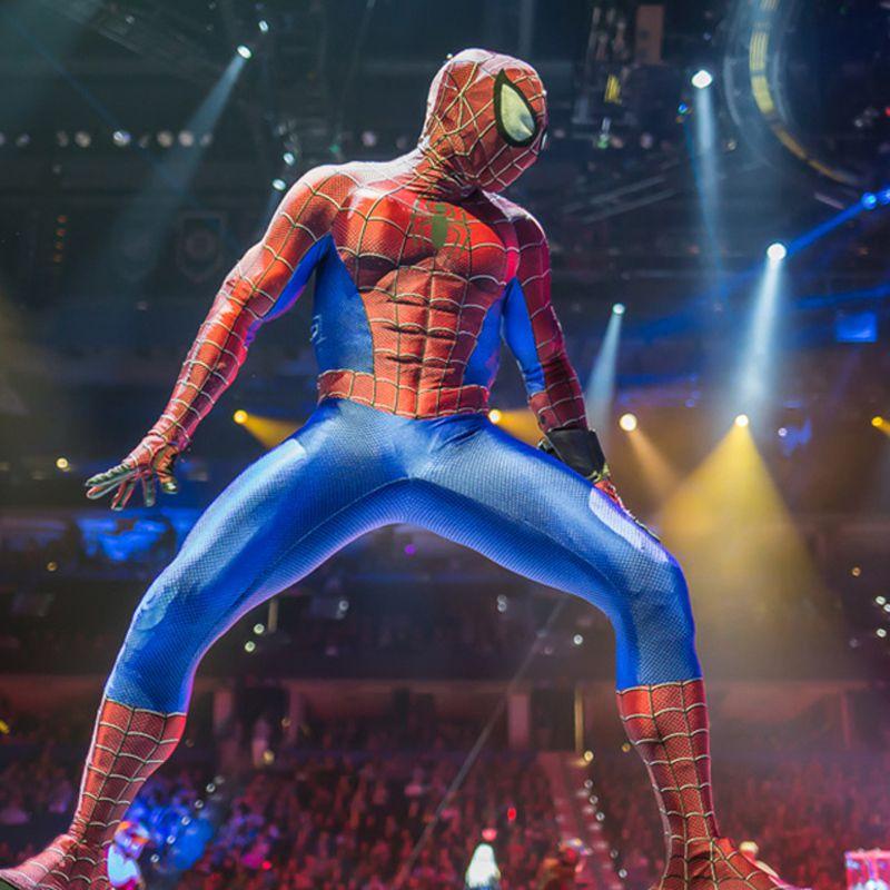 Les Heros Marvel en live à Paris ! Immanquable !