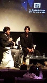 Rencontre avec Keanu Reeves pour le doc immanquable de OCS!