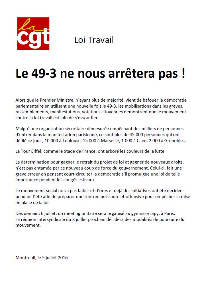 LE 49-3 NE NOUS ARRÊTERA PAS !!!