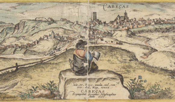 Joris Hoefnagel, 1565, Cabeças (détail) Cabeças University of South Carolina. Irvin Department of Rare Books and Special Collections.