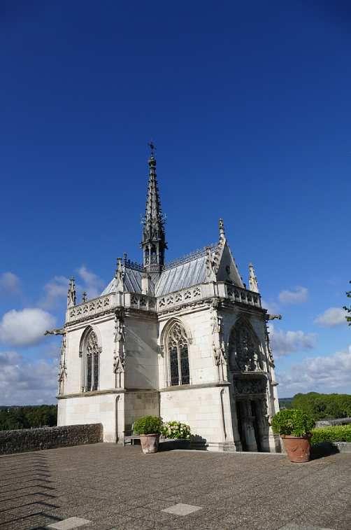 La Chapelle Royale du château d'Amboise, photo lavieb-aile.