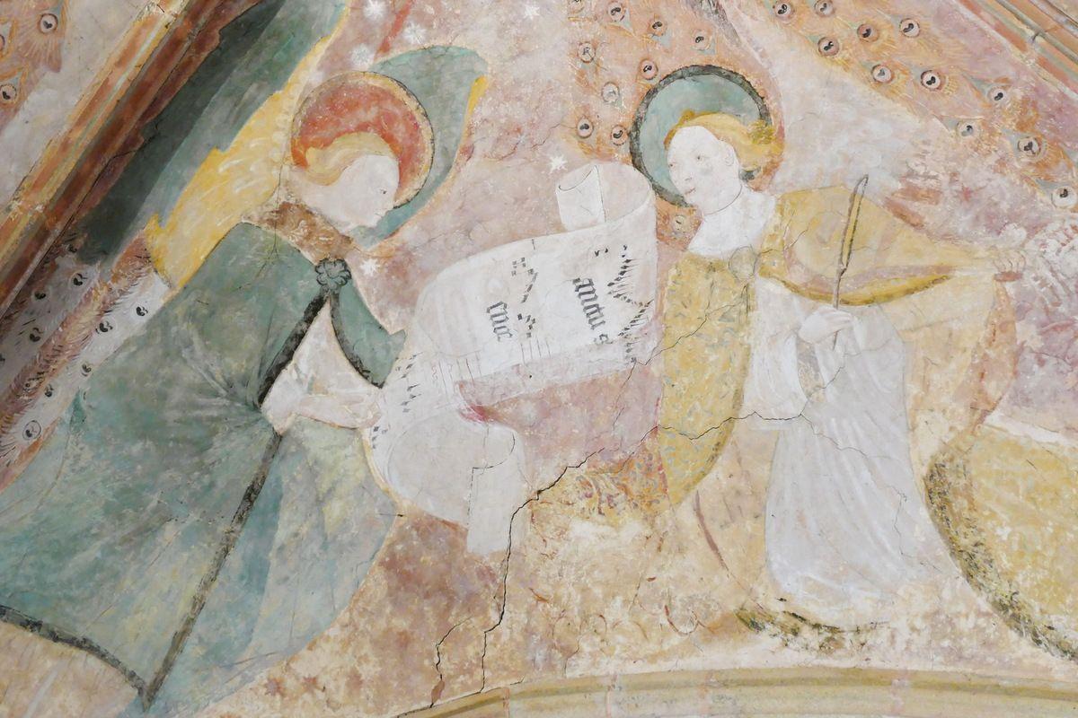 Voûtain III, à l'ouest. Transept nord, église Notre-Dame de Kerascléden. Photographie lavieb-aile.