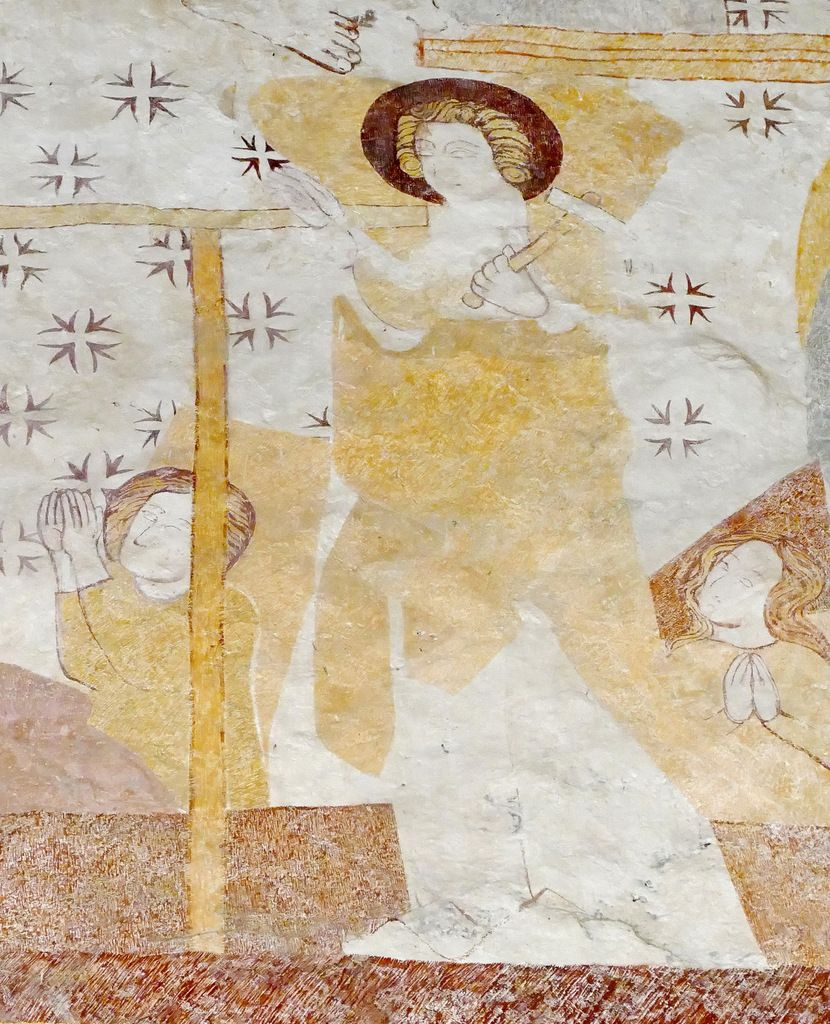 , registre inférieur, Chapelle de Locmaria er Hoët, Landévant. Photographie lavieb-aile.Résurrection des morts,
