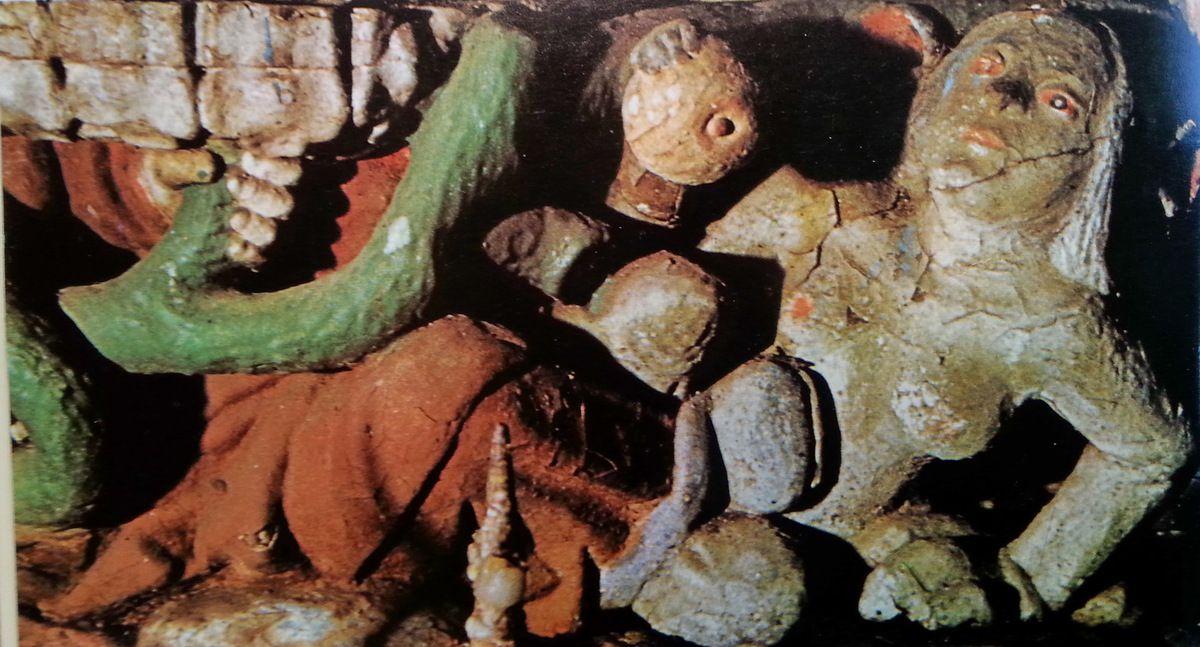 La Démone, chapelle Saint-Guen, Victor-Henry Debibour , L'Art de Bretagne, 1979. Droits réservés