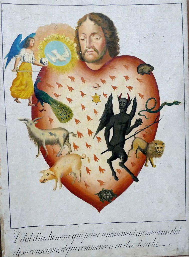 2.  L'attrition. Douze tableaux de mission de l'évêché de Quimper ; la série de Plouguerneau 1., photographie lavieb-aile