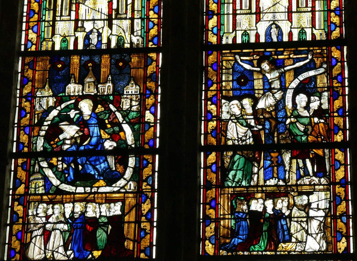 Baie 12 (détail), cathédrale de Beauvais, photographie lavieb-aile.