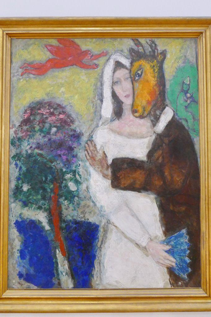 Marc Chagall, Songe d'une nuit d'été, 1939, Musée de Grenoble, photographie lavieb-aile.